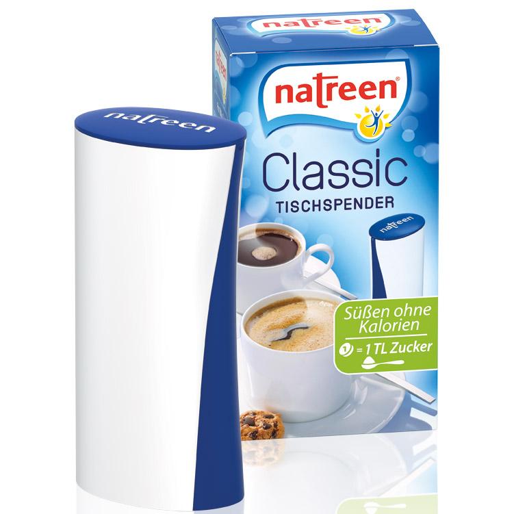 natreen Süßstoff Tischspender
