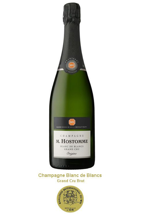 Champagne Hostomme Blanc de Blancs Grand Cru