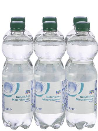 Mineralwasser 24/0,5L PET