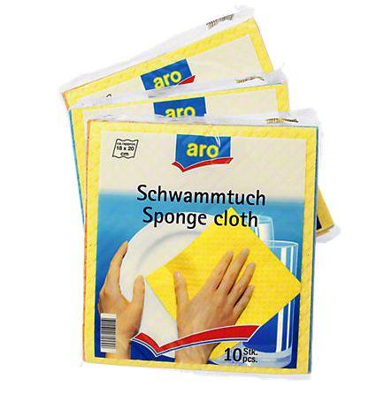 Schwammtücher 10er-Pack