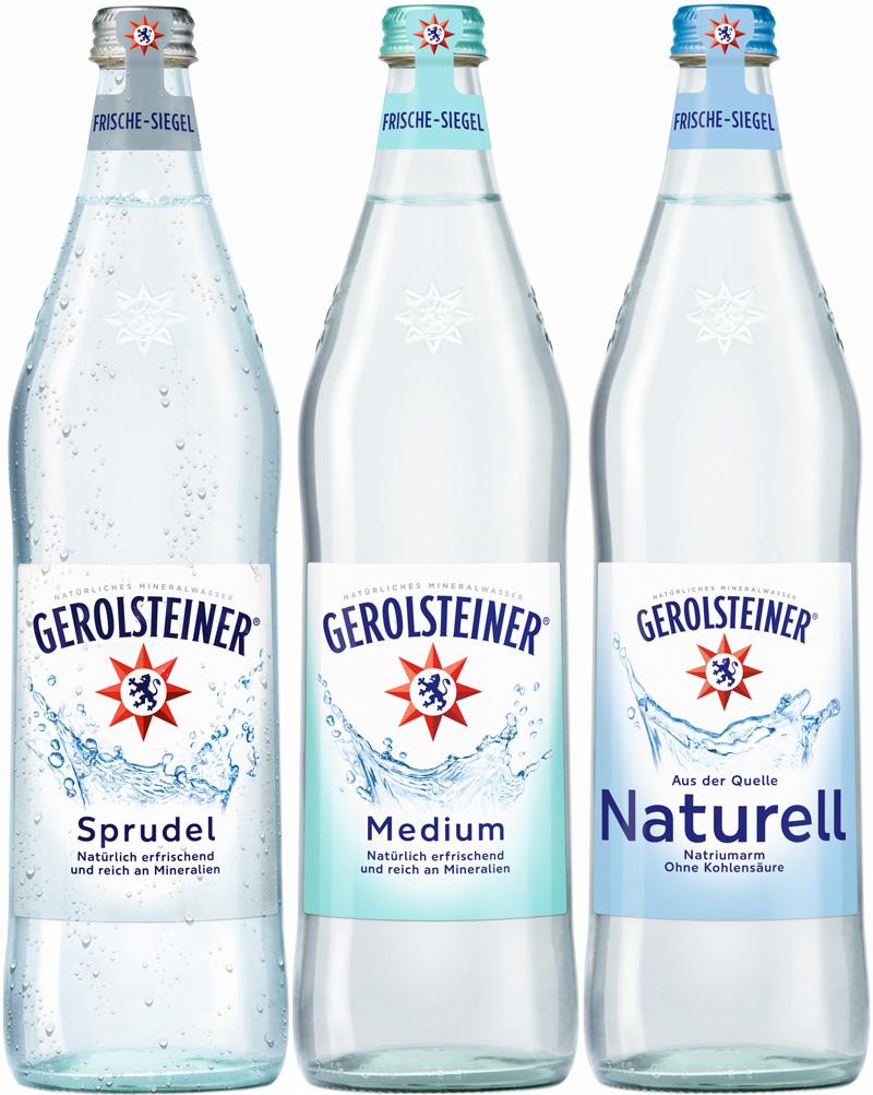 Gerolsteiner 12/0,75L Glas
