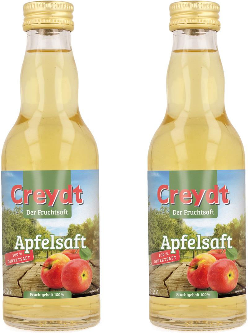 Creydt Apfelsaft 12/0,2L