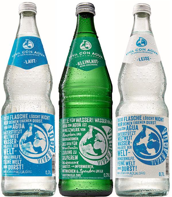 Viva con Agua 12/0,7L Brunnenflasche
