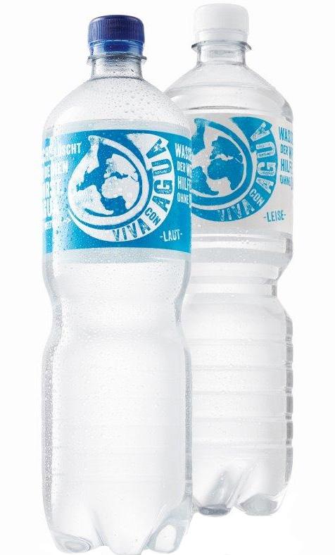 Viva con Agua 12/1,0L PET-Flaschen