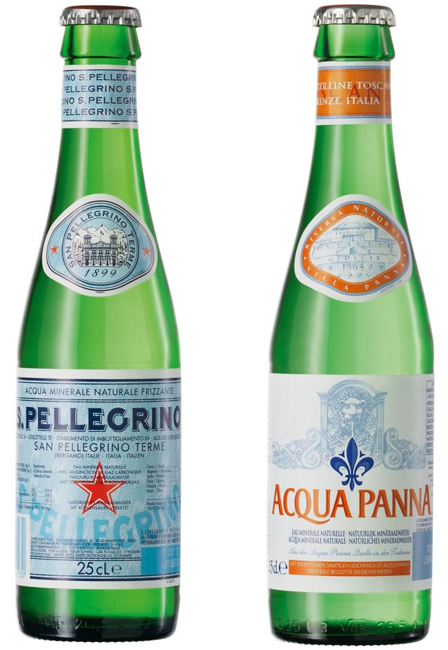 San Pellegrino / Acqua Panna 24/0,25L
