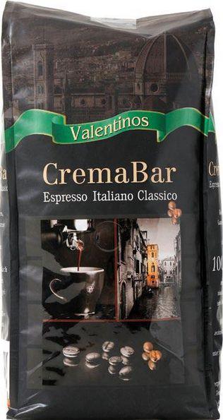 Valentinos Crema Bar Espresso 1000g