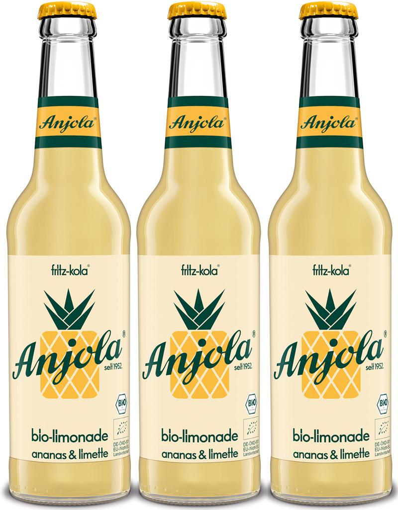anjola bio-limonade 24/0,33L