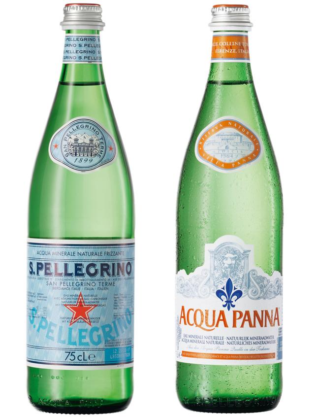 San Pellegrino / Acqua Panna 16/0,75L