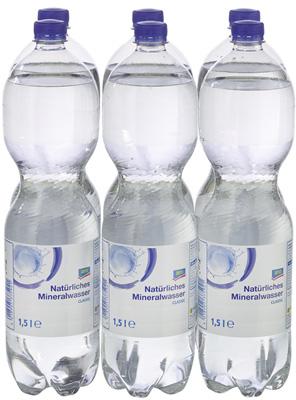 Mineralwasser 6/1,5L PET