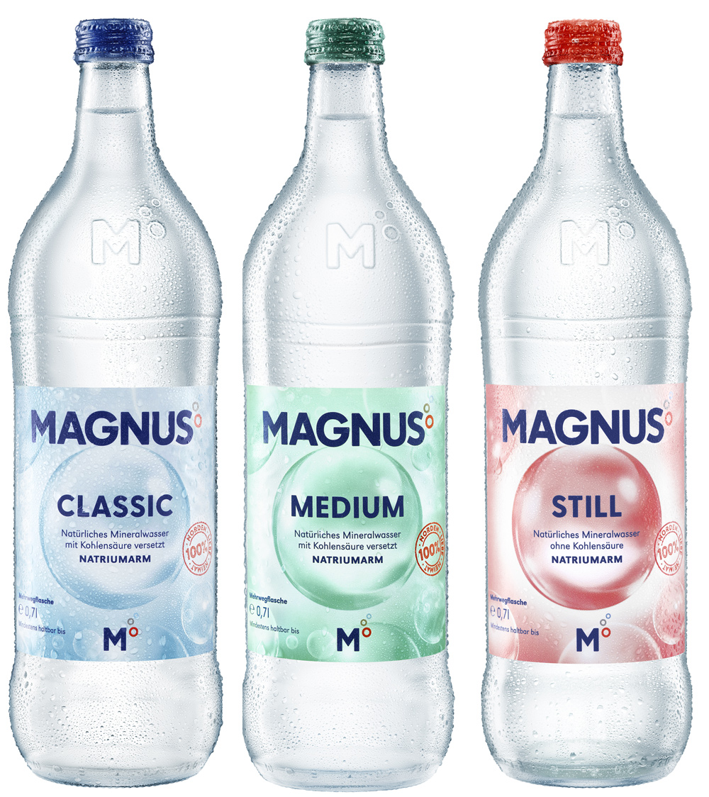 MAGNUS Mineralbrunnen 12/0,7L Glas