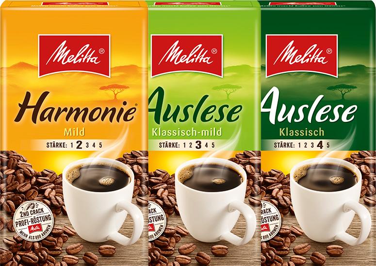 A Melitta Filterkaffee à 500g