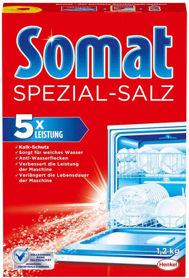 Geschirr-Spülmaschinen Salz Somat