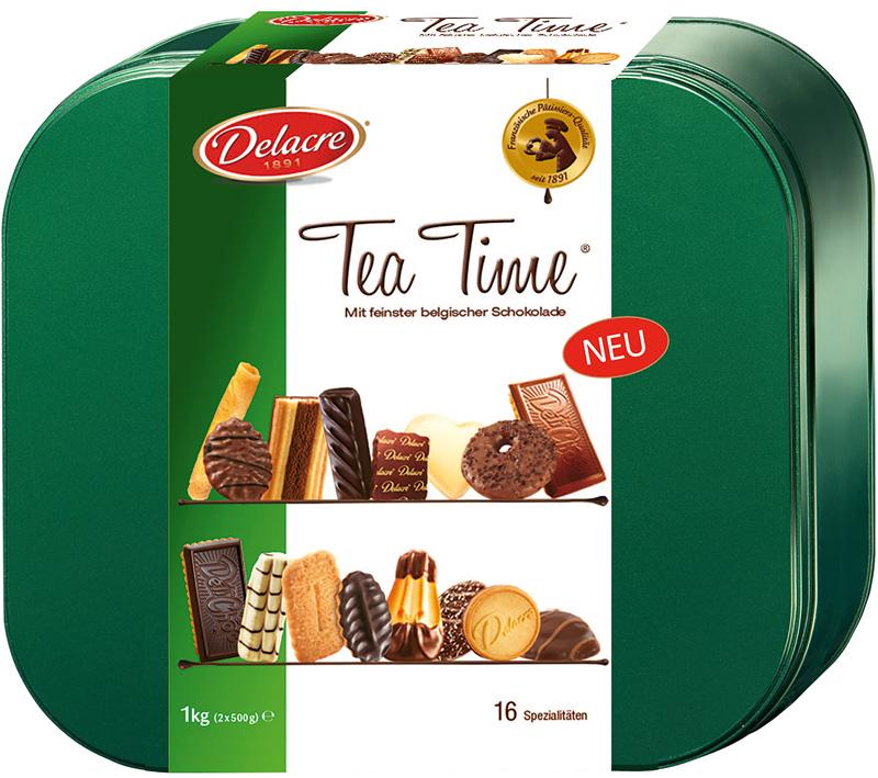 Gebäck Delacre Tea Time 1000g