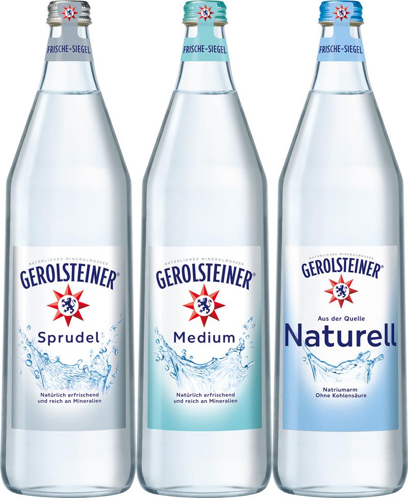 Gerolsteiner 6/1,0L Glas