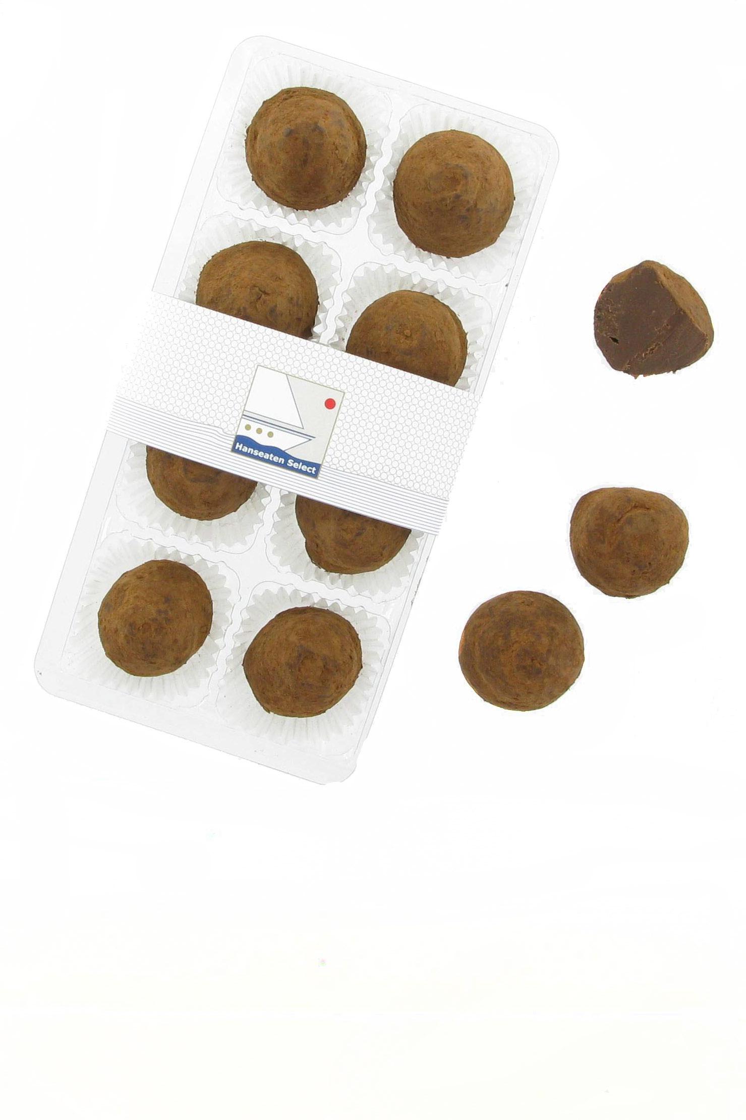 Truffes Chocolat - herbe Buttertrüffel 80g
