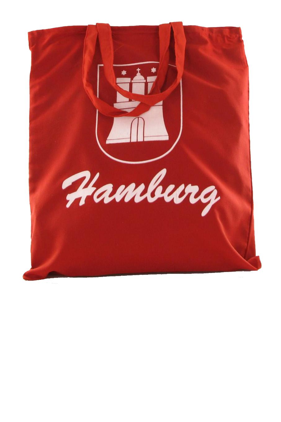 Hamburg Leinen-Stoffbeutel