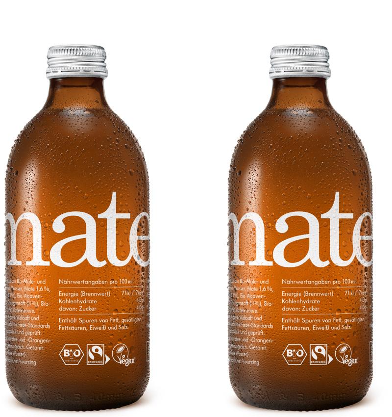 Charitea Mate 20/0,33L Glasflaschen