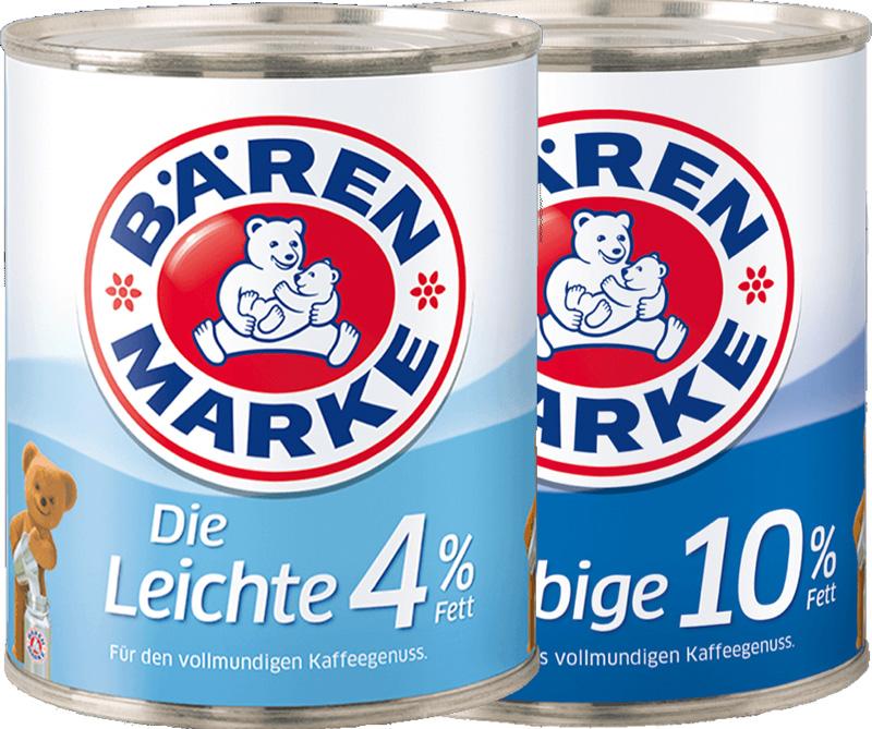 Kondensmilch Dosenmilch Bärenmarke 340g